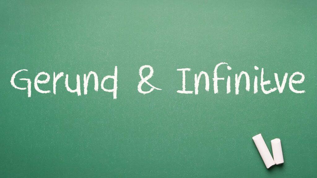 cách phân biệt gerund and infinitive